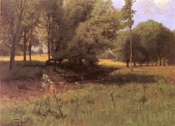 Summer Meadow | Charles Harry Eaton | oil painting