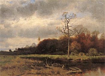 Autumn after Rain | Charles Harry Eaton | oil painting