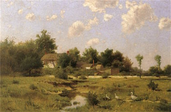 A Normandy Landscape | Charles Harry Eaton | oil painting