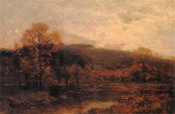 Autumn Brook | Charles Harry Eaton | oil painting