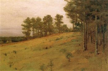 Hillside Pines | Charles Warren Eaton | oil painting