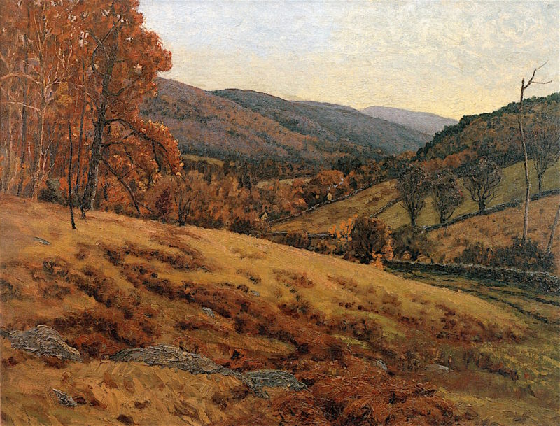 Wild Valley View | Ben Foster | oil painting