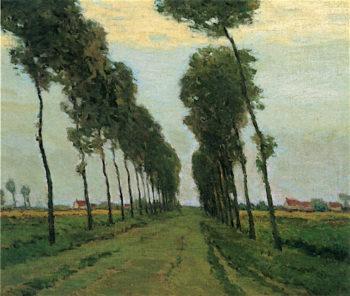 The Road to Sluis | Charles Warren Eaton | oil painting