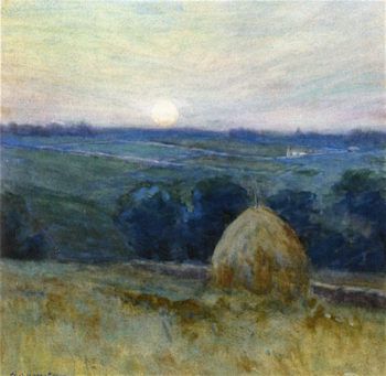 The Haystack | Charles Warren Eaton | oil painting