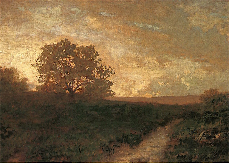 Sunset Hour | Alexander Helwig Wyant | oil painting