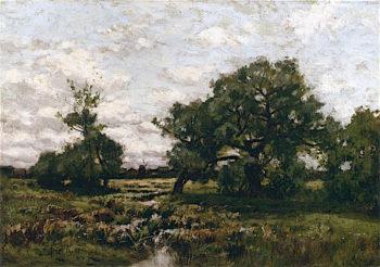 Meadow near East Hampton | Bruce Crane | oil painting