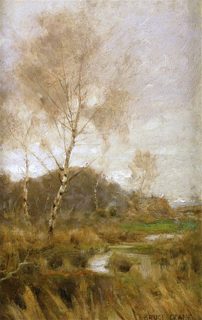 Early Spring | Bruce Crane | oil painting