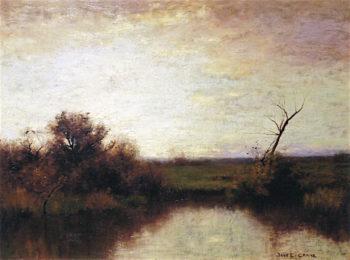 Marsh Sunset | Bruce Crane | oil painting