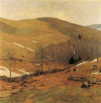 Awakening Hills | Bruce Crane | oil painting