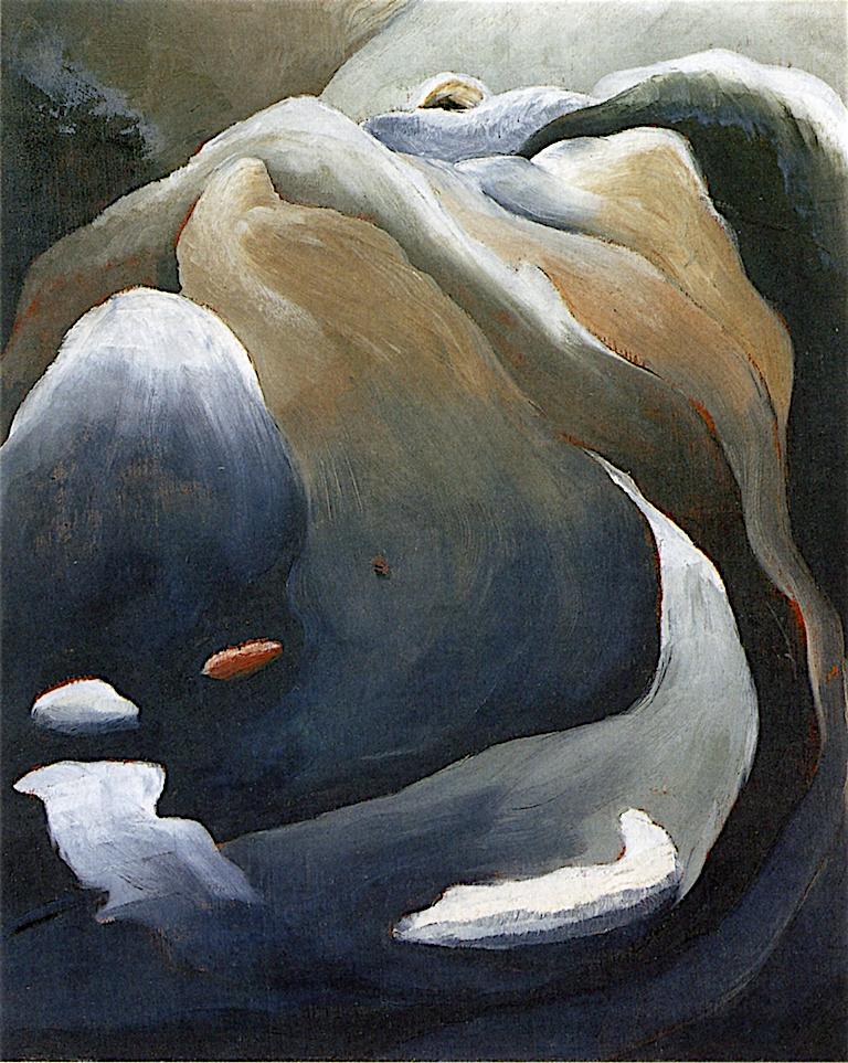 Waterfall | Arthur Dove | oil painting