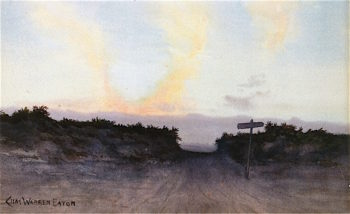 Twilit Road | Charles Warren Eaton | oil painting