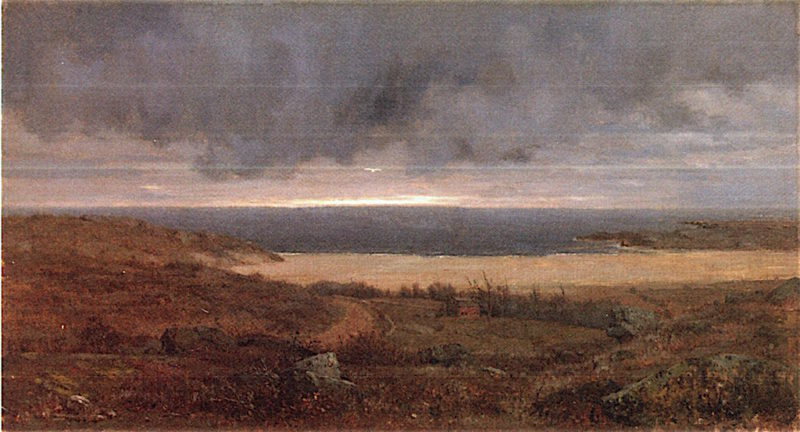 Passing Storm | Jervis McEntee | oil painting
