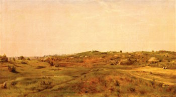 View in Central Park | Jervis McEntee | oil painting
