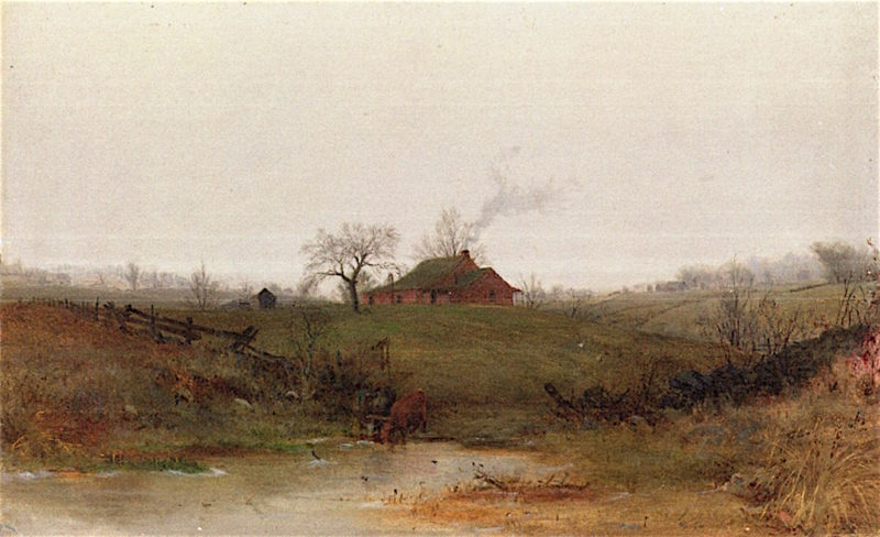 Coming Snow | Jervis McEntee | oil painting