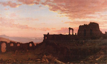The Ruins of Caesars Palace | Jervis McEntee | oil painting