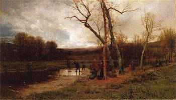 Saturday Afternoon | Jervis McEntee | oil painting