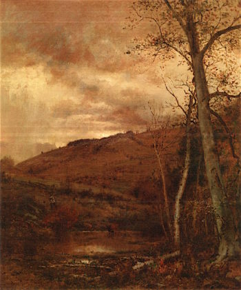 Fickle Sies of Autumn | Jervis McEntee | oil painting