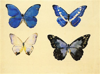 Butterflies | Augusto Giacometti | oil painting