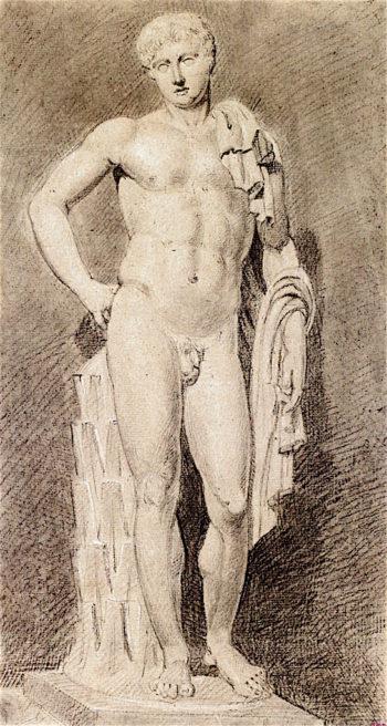 The Belvedere Antinoüs | Joseph Mallord William Turner | oil painting