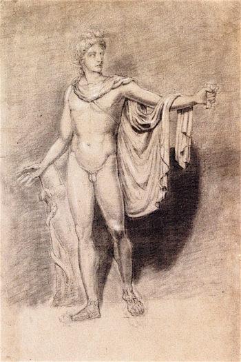 The Apollo Belvedere | Joseph Mallord William Turner | oil painting