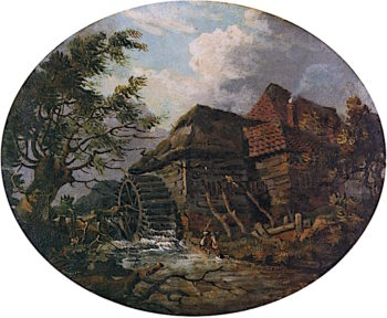 Watermill and Stream | Joseph Mallord William Turner | oil painting
