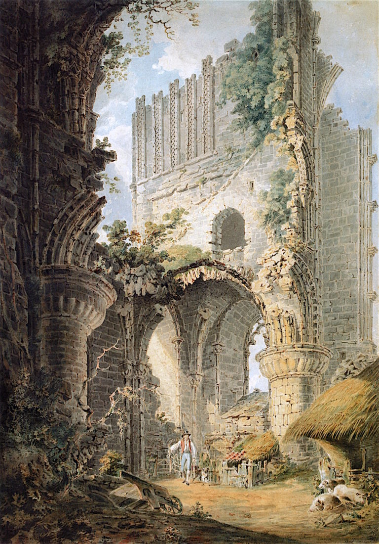 Malmsbury Abbey | Joseph Mallord William Turner | oil painting