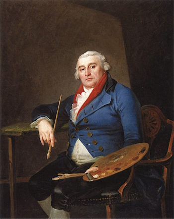 Self - Portrait | Philippe-Jacques de Loutherbourg | oil painting