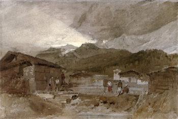 Contamine - avec Mr Blanc | Joseph Mallord William Turner | oil painting