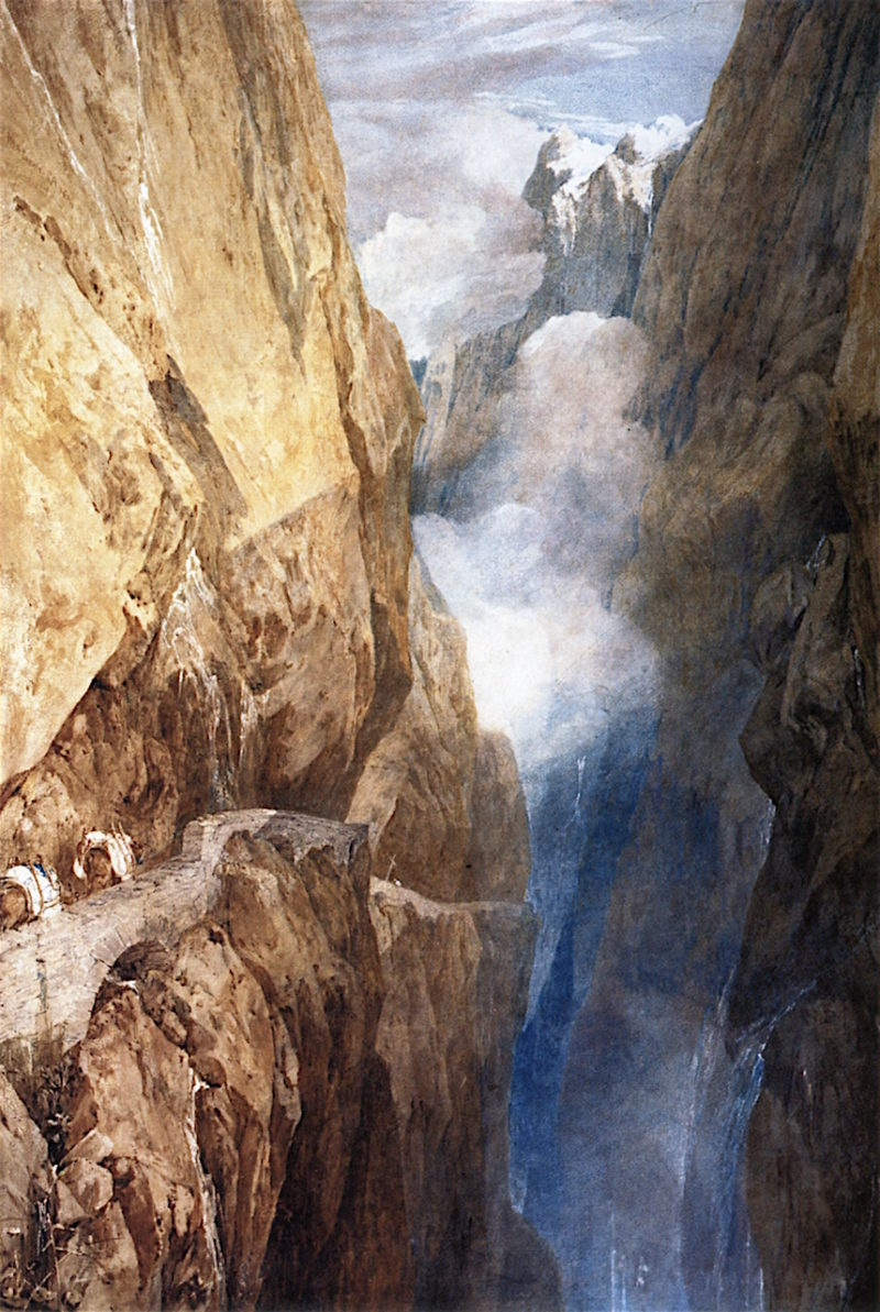 The Passage of Mount St Gothard