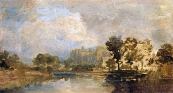 Windsor Castle for the River | Joseph Mallord William Turner | oil painting