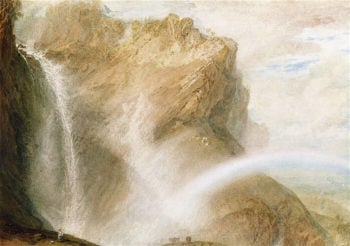 Fall of the Reichenbach | Joseph Mallord William Turner | oil painting