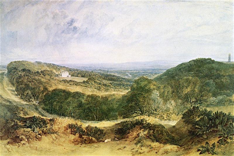 The Vale of Heathfield | Joseph Mallord William Turner | oil painting