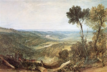 The Vale of Ashburnham | Joseph Mallord William Turner | oil painting