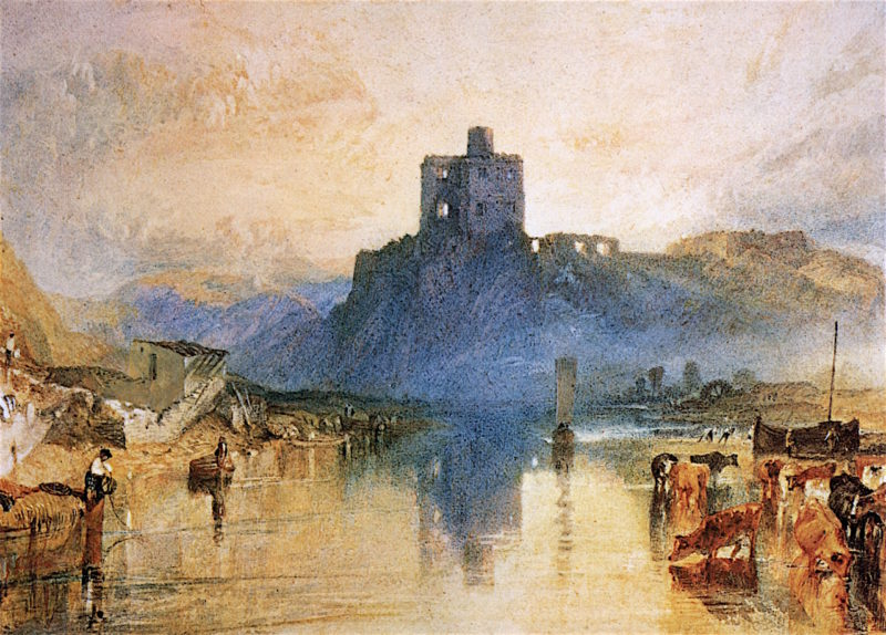 Norham Castle on the River Tweed | Joseph Mallord William Turner | oil painting