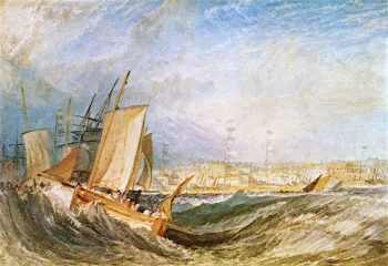 Deal | Joseph Mallord William Turner | oil painting