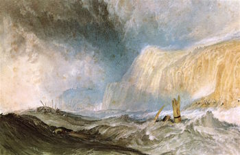 Shipwreck off Hastings | Joseph Mallord William Turner | oil painting