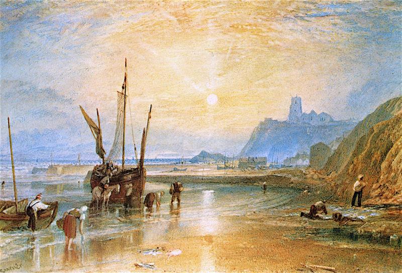 Folkestone   Joseph Mallord William Turner   oil painting