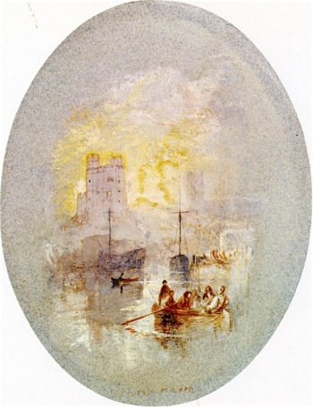 Orford Haven | Joseph Mallord William Turner | oil painting