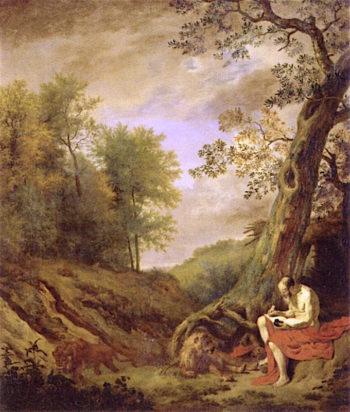 St Jerome | Adriaen van de Velde | oil painting