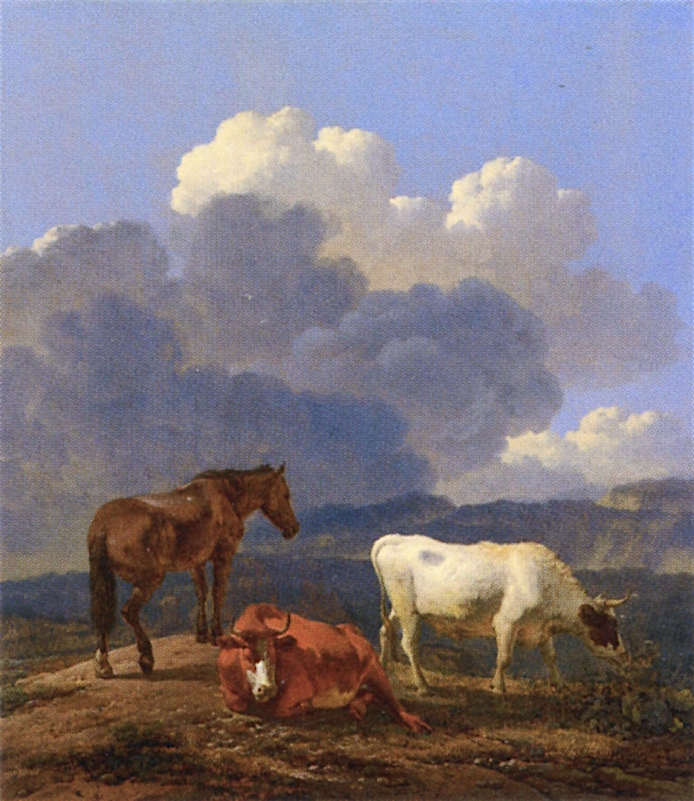 Italianate Landscape with Cattle | Carel Dujardin | oil painting