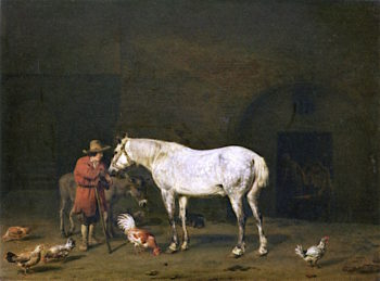 The Forge | Adriaen van de Velde | oil painting