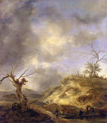 View near Haarlem | Philips Wouwerman | oil painting