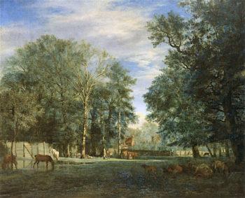 The Koekamp in the Hague | Adriaen van de Velde | oil painting