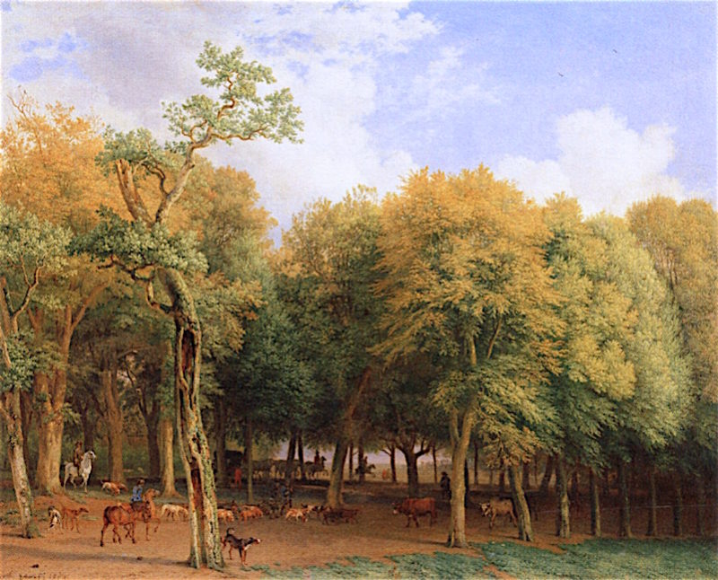 Departure for the Hunt | Paulus Potter | oil painting