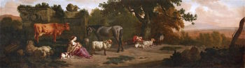 Landscape with Nursing Herdsman
