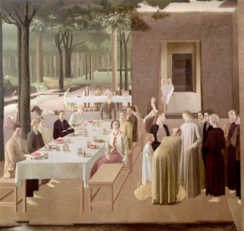 The Marriage at Cana | Colin Unwin Gill | oil painting