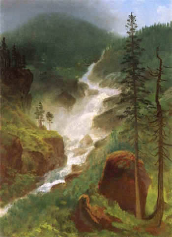 Colorado Waterfalls | Albert Bierstadt | oil painting