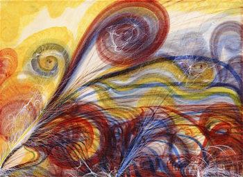 The Eye of God | Georgiana Houghton | oil painting