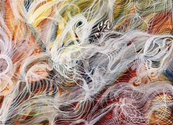 The Love of God | Georgiana Houghton | oil painting