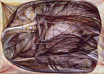 Untitled | Georgiana Houghton | oil painting